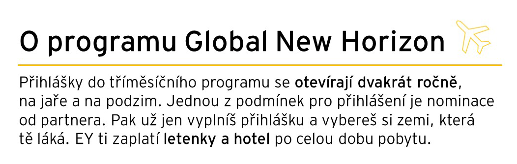 O programu Global New Horizon